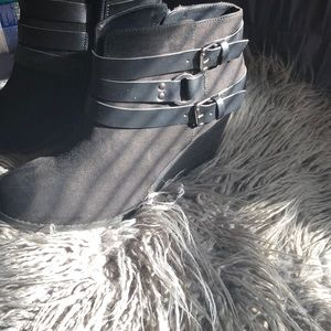 """3 """" Wedge Ankle boot"""